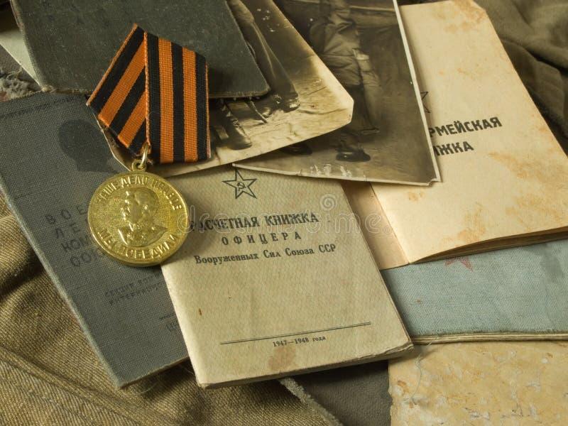 Documentos del ejército imagenes de archivo