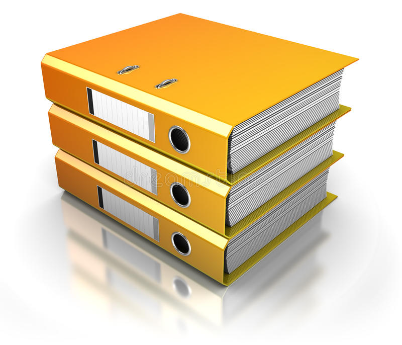 Documents stock illustration