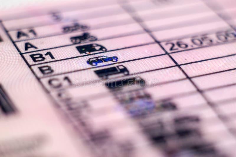 Documentvergunning in Polen stock fotografie