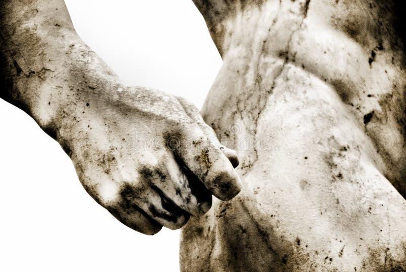 dodający antyczny zbożowy rzymski niektóre statua obraz stock