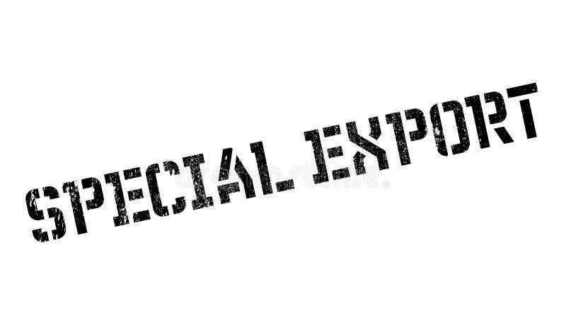 Dodatek specjalny Eksportowa pieczątka royalty ilustracja