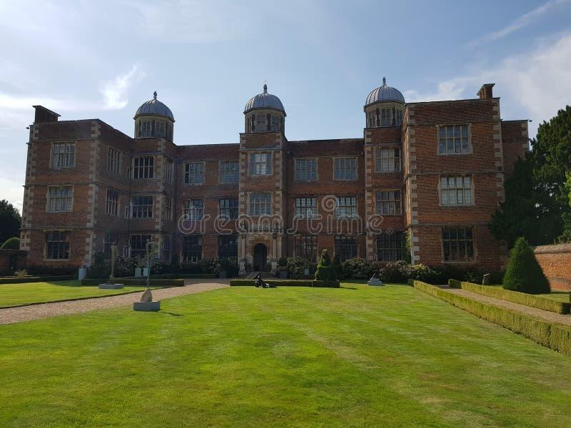 Doddington Hall, 16th Century House in England, UK royalty free stock photos