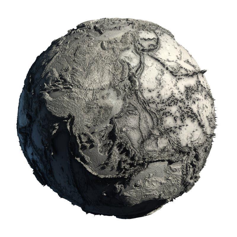 Dode Aarde royalty-vrije illustratie