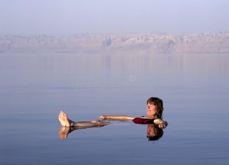 Dode Overzees, Jordanië royalty-vrije stock afbeeldingen