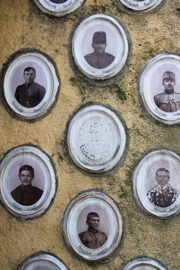 Dode slachtoffers en slachtoffers van Eerste wereldoorlog stock foto's