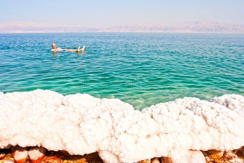 Dode zee, Ισραήλ  Νεκρή θάλασσα, Ισραήλ στοκ φωτογραφία