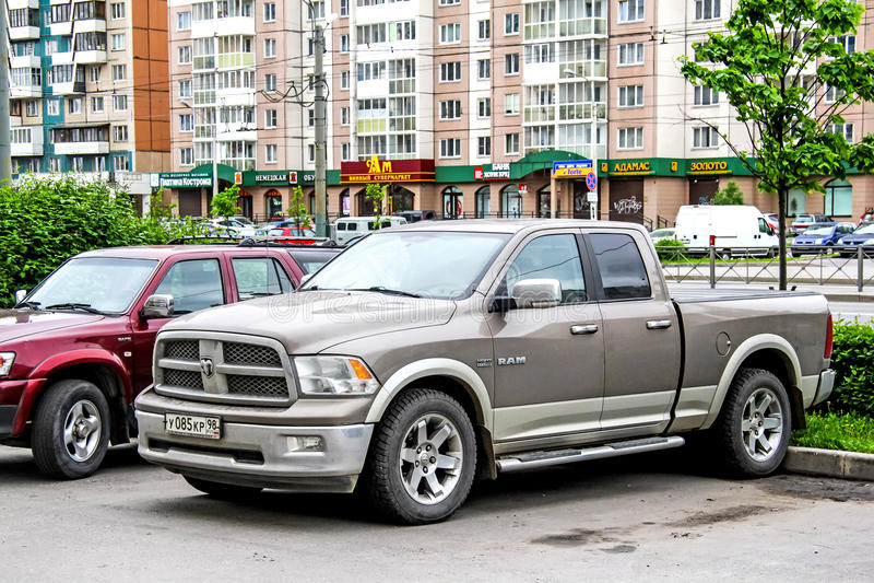 Dodge baran zdjęcie stock