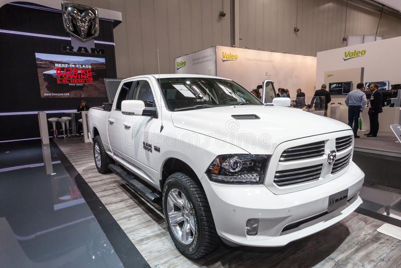 Dodge baranu 1500 furgonetka obraz royalty free