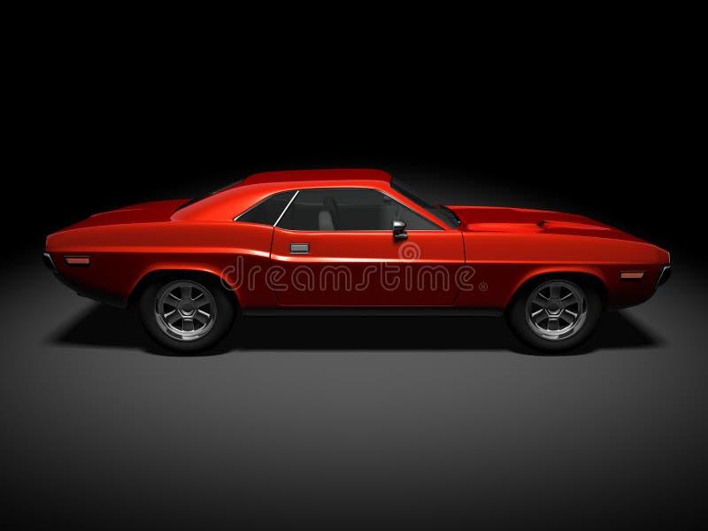 Dodge Challenger 4 stock image