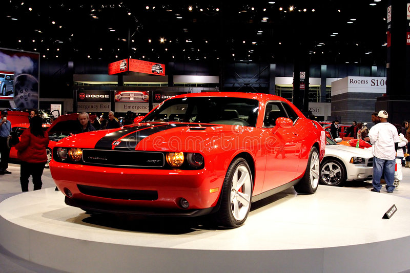 Dodge Challenger. At the 2009 Chicago Auto Show stock image