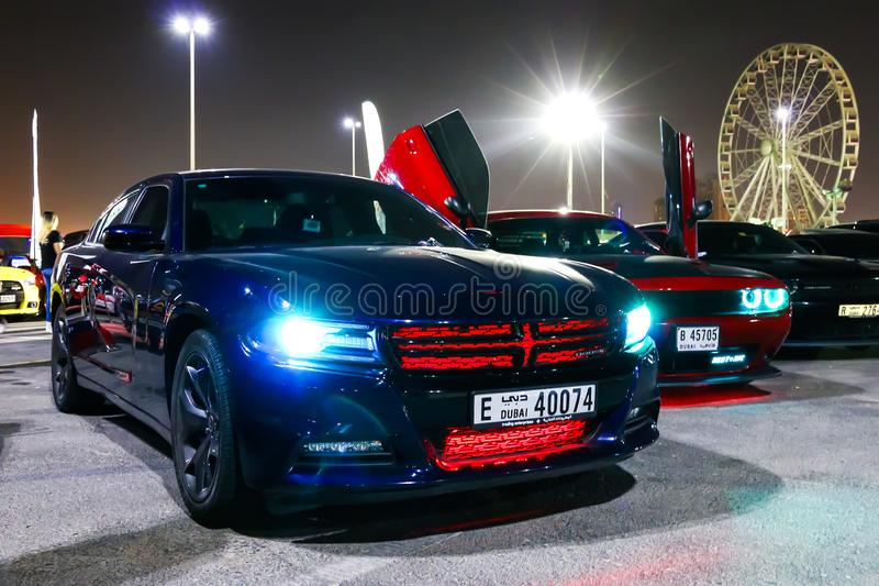 Dodge Charger royalty free stock photography