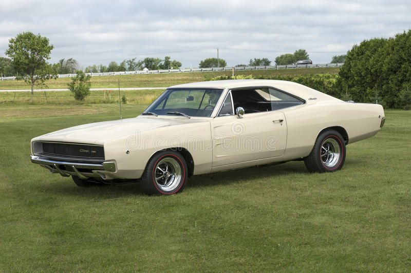 Dodge charger royalty free stock photo