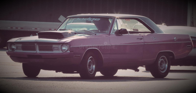Dodge Dart-lebenslustiger Typ 1970 lizenzfreie stockfotos