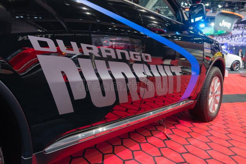 Dodge Durango Pursuit on display during Los Angeles Auto Show stock photo