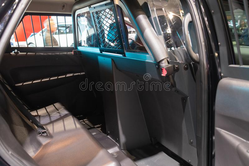 Dodge Durango Pursuit on display during Los Angeles Auto Show stock photos