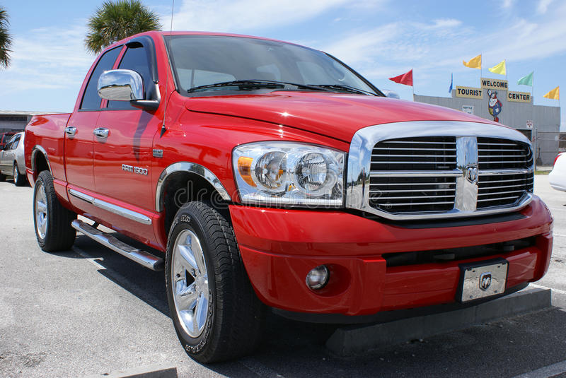 Dodge Ram 1500 in Florida stock images