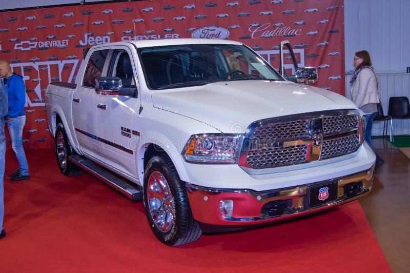 Dodge RAM 1500 lizenzfreies stockbild