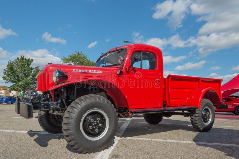Dodge RAM Power Wagon à la croisière de rêve de Woodward photos stock