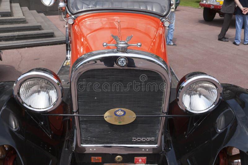 Dodge Roadster oldtimer. Dodge Roadster automobile from 1924 during oldtimer cars rally stock image