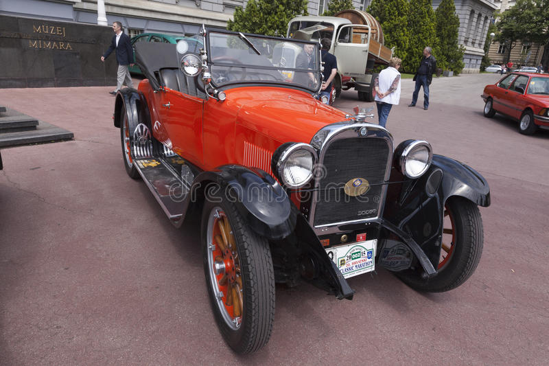 Dodge Roadster oldtimer. Dodge Roadster automobile from 1924 during oldtimer cars rally royalty free stock image