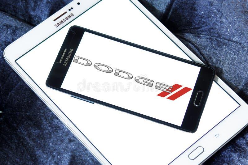 Dodge samochodu logo obrazy stock