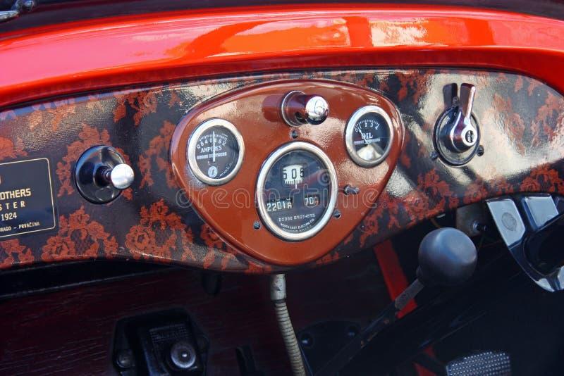 Dodge terenówka, Klasyczny samochód fotografia royalty free