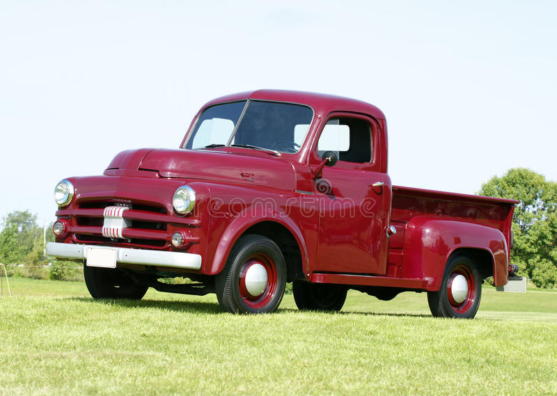 Dodge truck. Picture of the vintage dodge truck stock photos