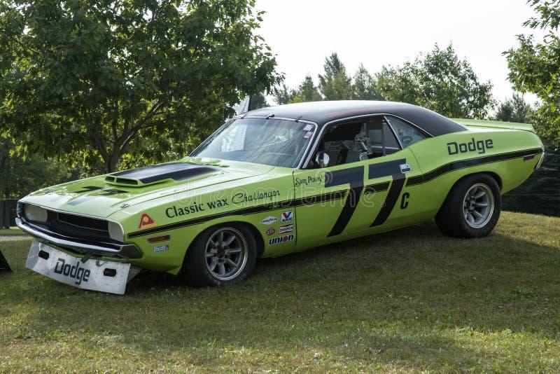 Dodge-uitdager trans am stock foto's