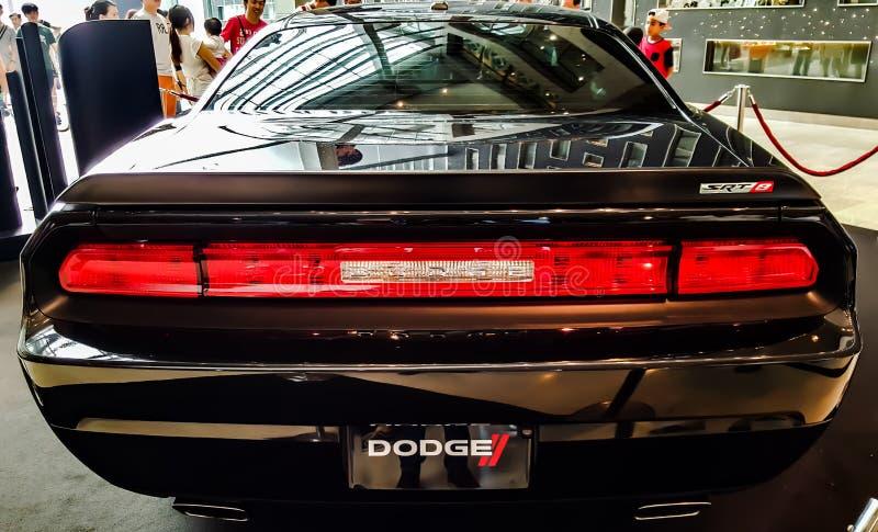 Dodge utmanare SRT 8 arkivbilder