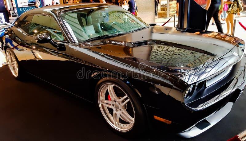 Dodge utmanare SRT8 royaltyfri fotografi