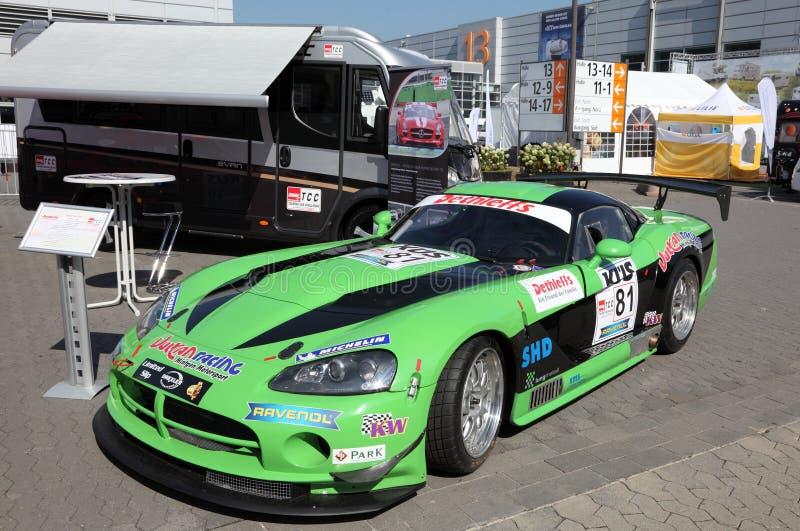 Dodge-Viper GT3 stockfotos