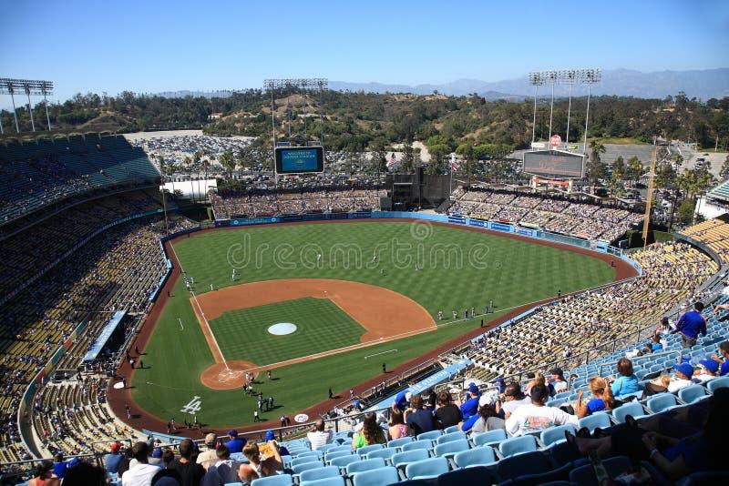 Dodger体育场-洛杉矶Dodger 图库摄影