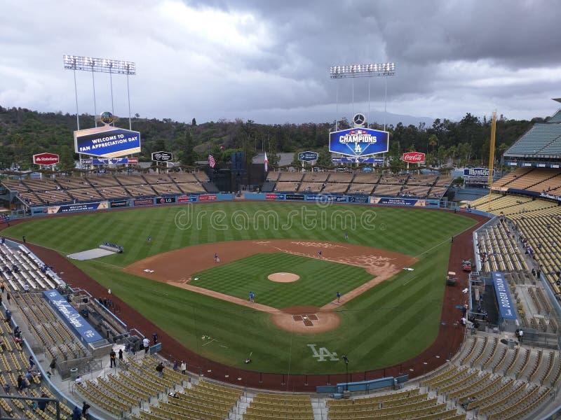 Dodger Stadium lizenzfreies stockbild