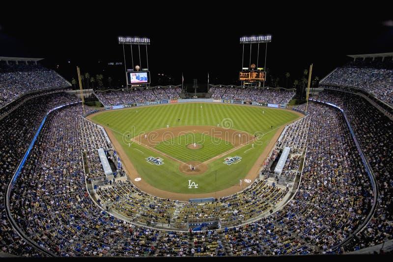Dodger Stadium stockfotografie