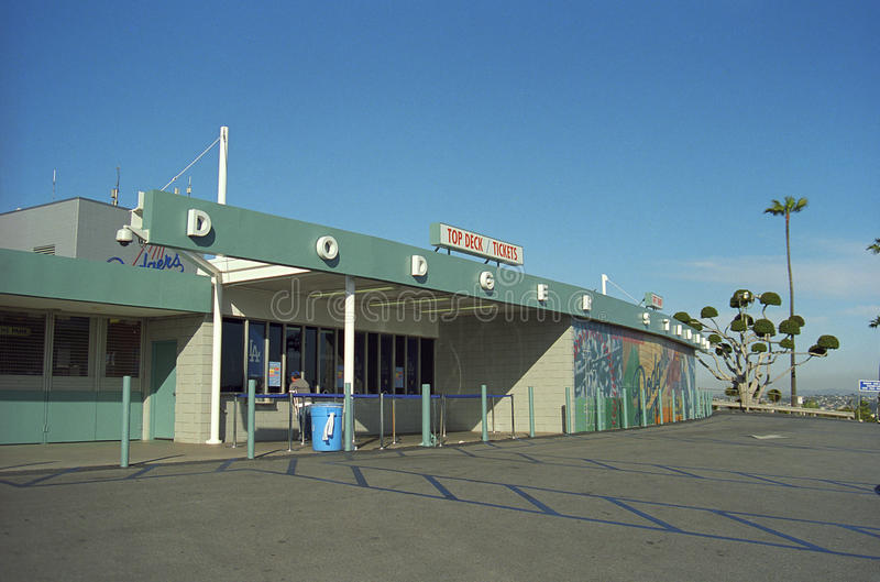Dodger Stadium - Los Angeles Dodgers royalty free stock photography