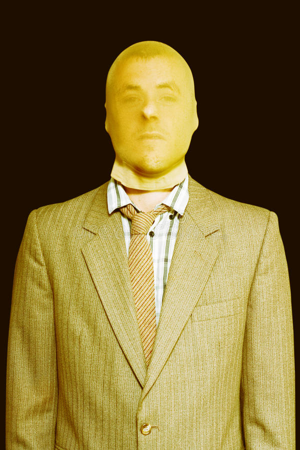 Download Dodgy Business Person In Stocking Mask Stock Photo - Image: 25931180