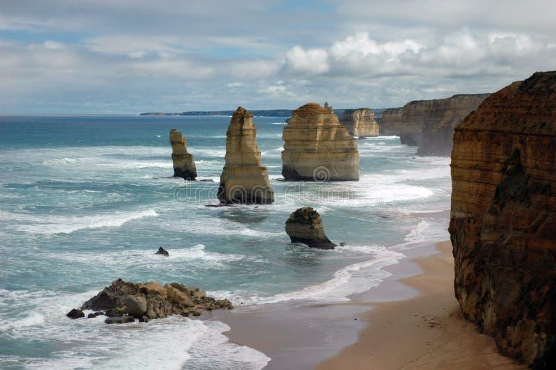 Dodici apostoli, Australia fotografia stock