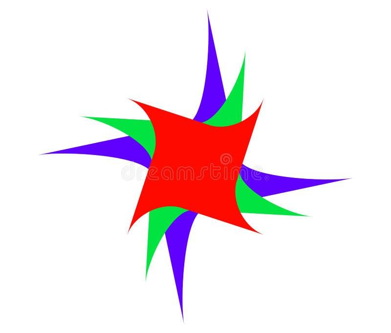 - Dodici - - stella - 9 aguzzi allegri fotografia stock