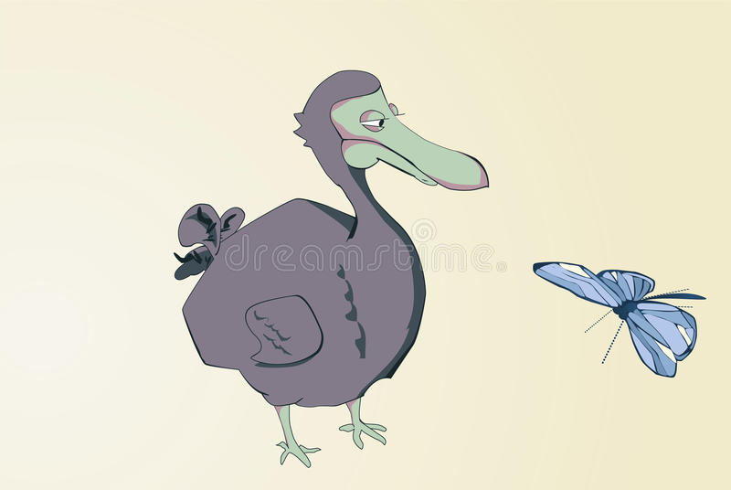 dodo κινούμενων σχεδίων στοκ φωτογραφίες