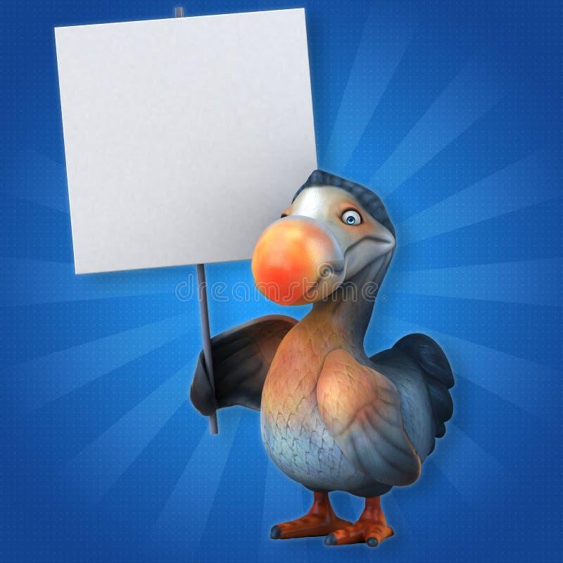 dodo иллюстрация вектора