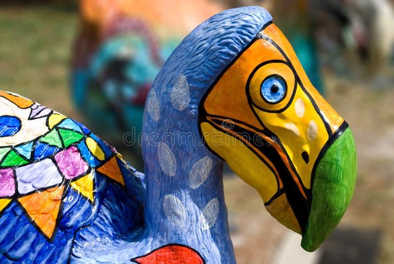 Dodo door Vaco Closeup royalty-vrije stock foto