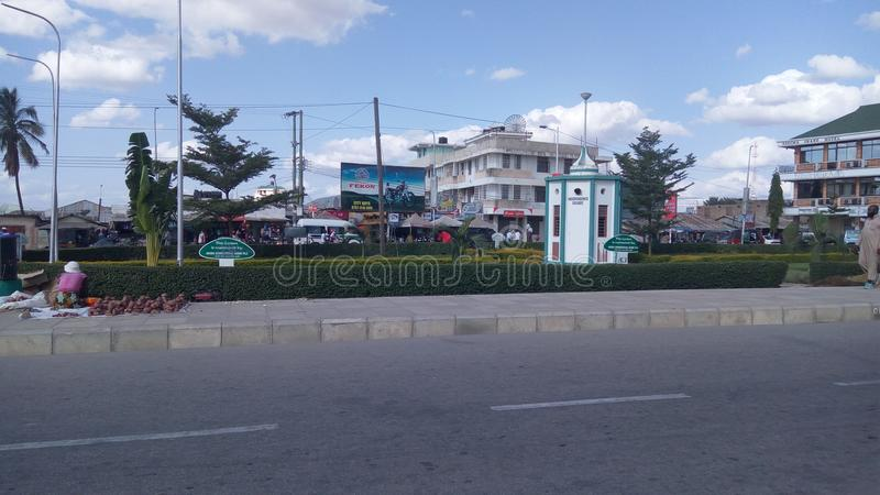 Dodoma-Unabhängigkeits-Quadrat lizenzfreie stockbilder
