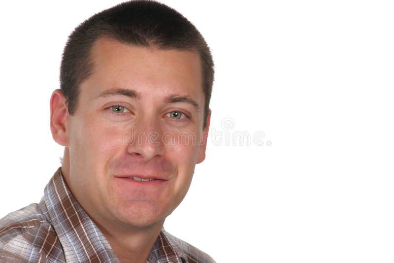 Doe barsten grijnzen bij u royalty-vrije stock afbeelding
