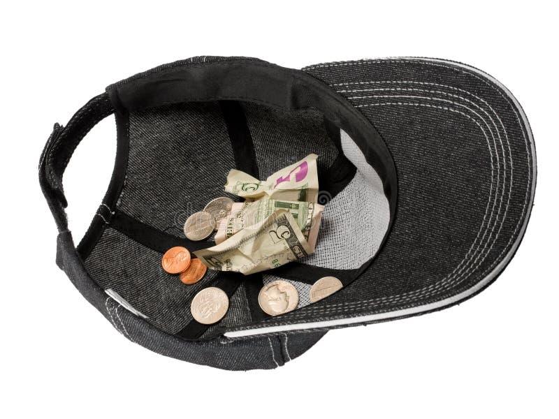 Doe o dinheiro foto de stock