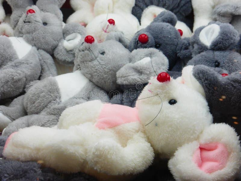 Doekstuk speelgoed dierlijke modellering, interessant en mooi stock foto's