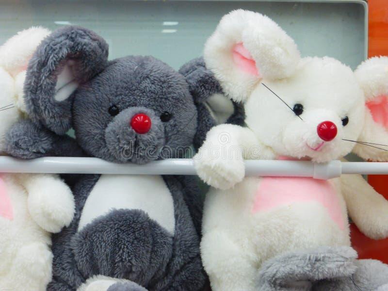 Doekstuk speelgoed dierlijke modellering, interessant en mooi royalty-vrije stock foto
