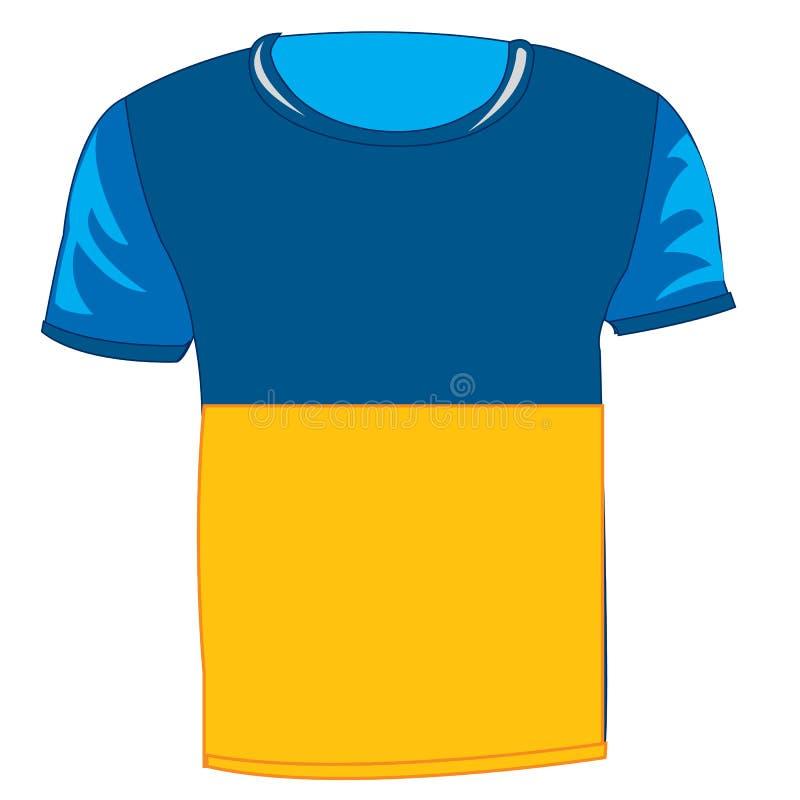 Doekvlag de Oekraïne vector illustratie