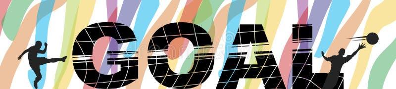 Doel! vector illustratie