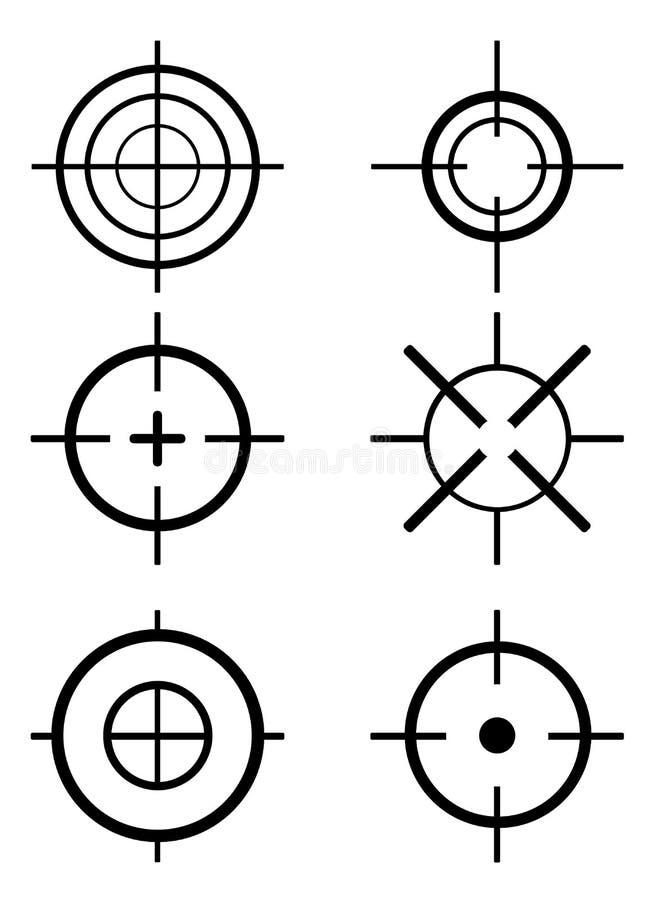 Doel vector illustratie