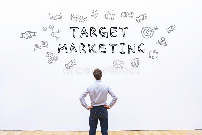 Doel marketing royalty-vrije stock foto